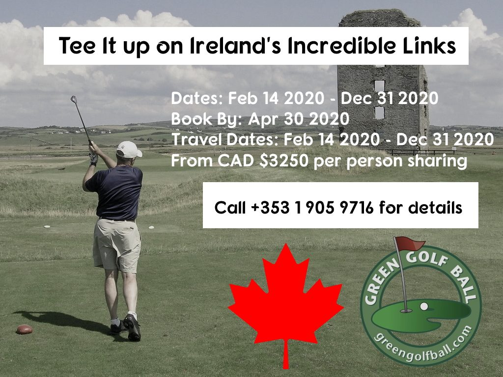 Canada Golf Offer